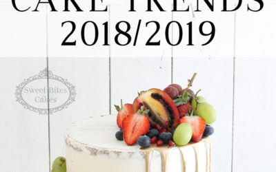 Our Top Cake Trends for 2018/2019