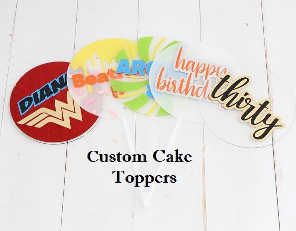 Custom Cake Topper Sweet Bites Cakes Auckland Nz