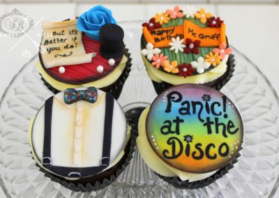 panic! at the disco cupcakes
