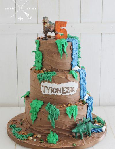 dinosaur mud cake 5th birthday
