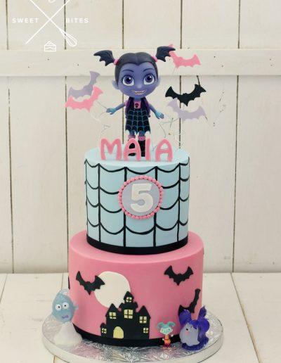 vampirina vampire ballerina cake 5th birthday