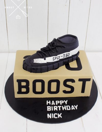 Adidas 3d shoe box ultraboost cake
