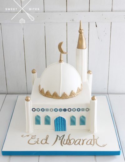 temple mosque 3d cake
