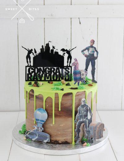 fortnite battle royal cake