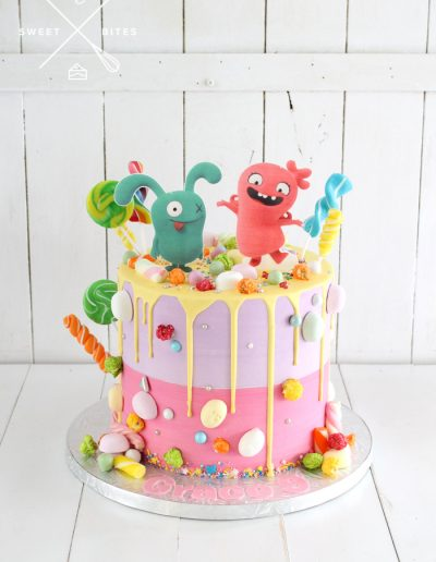ugly dolls candy overload cake