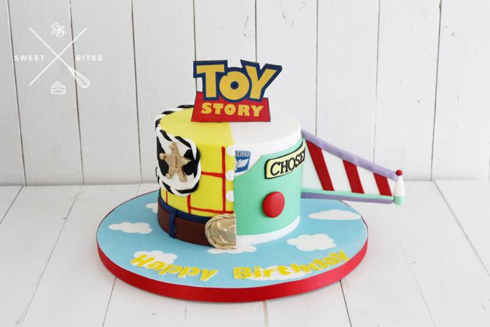 toy story buzz lightyear woody cake