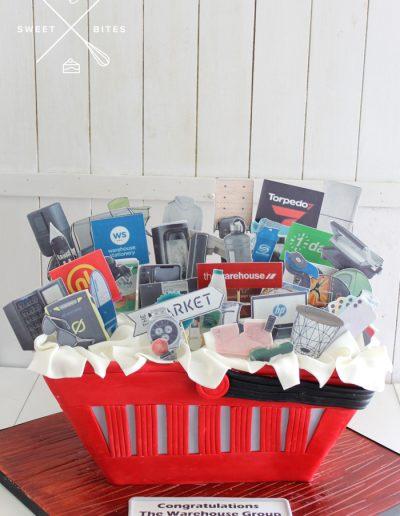 the warehouse cake basket shopping cart online