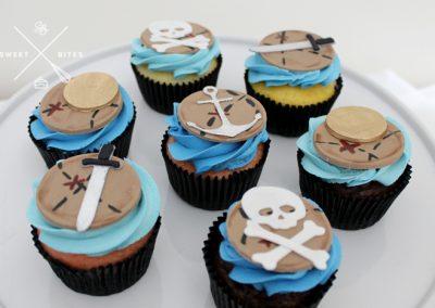 pirate treasure map cupcakes