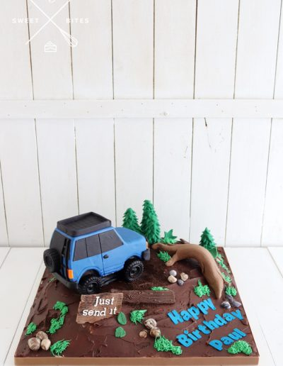 off road mountain cake 3d 4wd