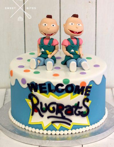 rugrats baby shower cake