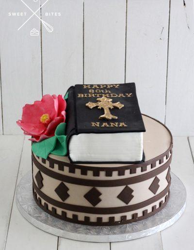 bible island cake
