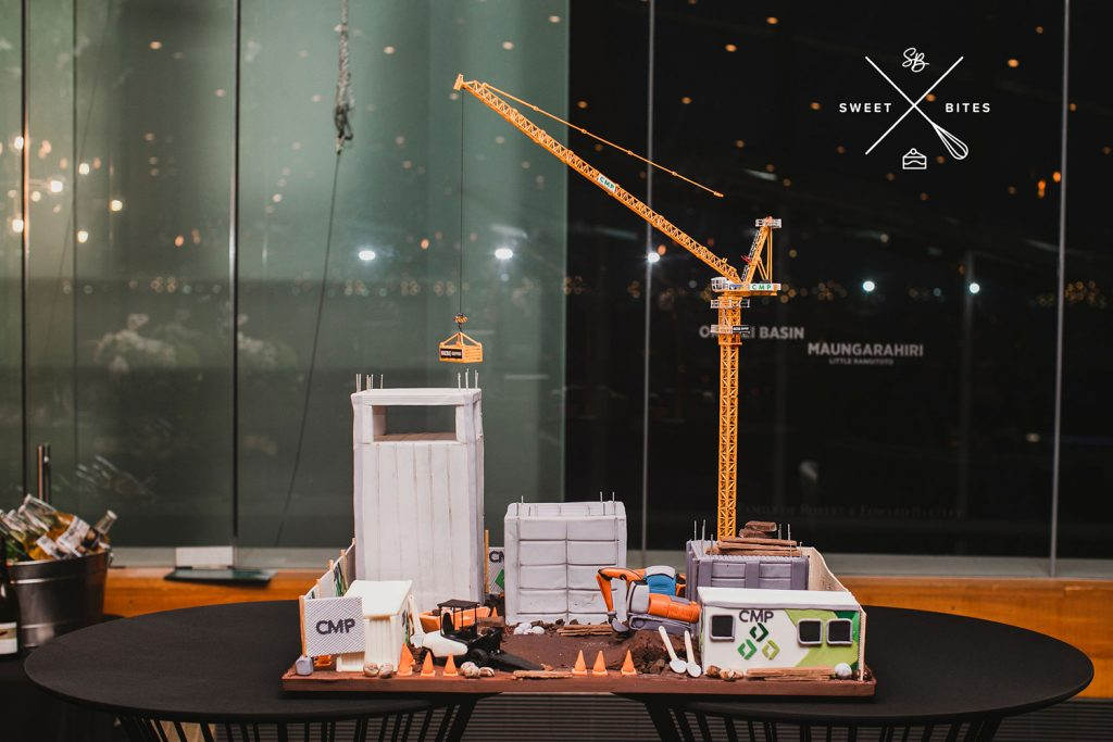 CMP construction site 3D cake