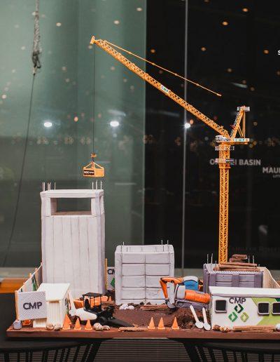 CMP construction site 3D cake