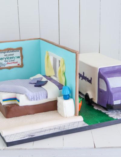 sleepyhead truck cake bed mattress house
