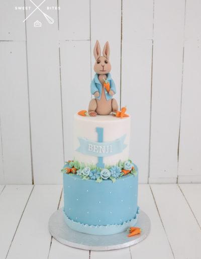 peter rabbit cake beatrice potter 1st birthday