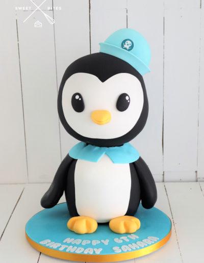 3d penguin cake octonauts