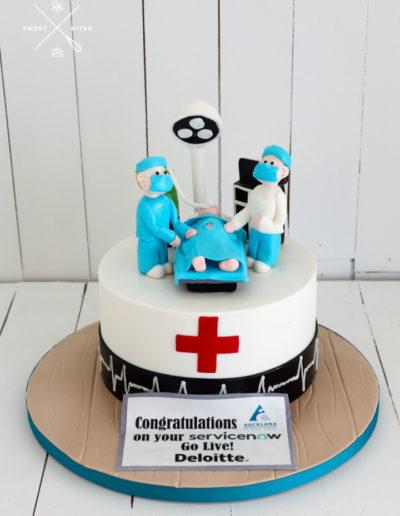 dr doctor nurse surgeon hospital cake theatre