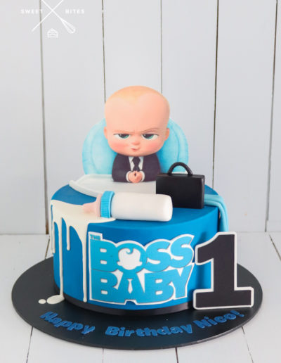 boss baby cake 1st birthday