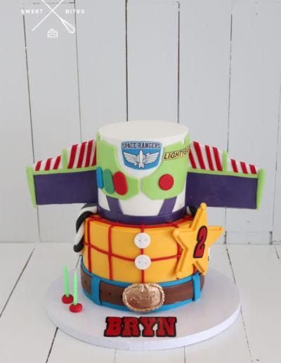 toy story buzz lightyear woody cake 2 tier
